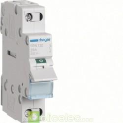 Interrupteur 1P 32A SBN132 Hager