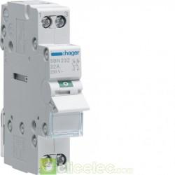 Interrupteur 2P 32A SBN232 Hager