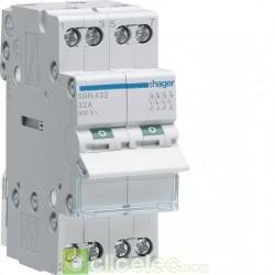 Interrupteur 4P 32A SBN432 Hager