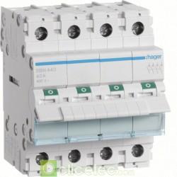 Interrupteur 4P 40A SBN440 Hager