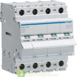 Interrupteur 4P 125A SBN499 Hager