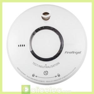 détecteurs avertisseur autonome de fumée 10 ans NF ST620 FRT Fireangel Détecteur de fumée