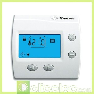 thermostat plancher chauffant thermostat ambiance digital ks thermor. Black Bedroom Furniture Sets. Home Design Ideas