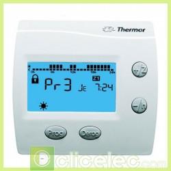 ChauffageThermostat de plancher chauffant COMMANDE DIGITALE HEBDO 1 ZONE Thermor