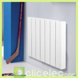 Chauffage radiateur à corps de chauffe fluide Accessio Digital Atlantic