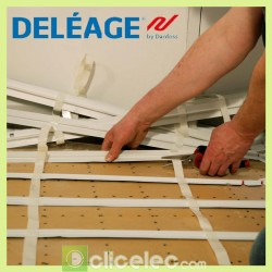 Chauffage plancher chauffant INFRACABLE Deléage