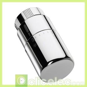 Tête thermostatique design chromée Acova Accessoire chauffage