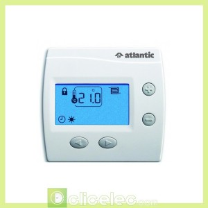Thermostat numérique digital DOMOCABLE Atlantic Thermostats d'ambiance