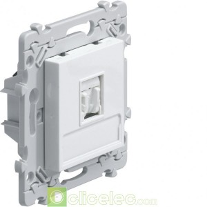 Essensya Prise RJ45 Cat.5e FTP WE214 Hager Essensya Hager